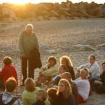 Auf dem Abendspaziergang am Strand von Hiddensee | Ute Fritsch
