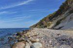 Am Fuß des Steilufers von Hiddensee