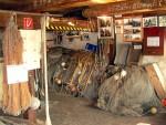 Ausstellungsraum im Fischereimuseum Neuendorf auf Hiddensee