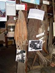 Ausrüstungsgegenstände im Neuendorfer Fischereimseum