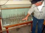 Modellreuse wird erläutert | Fischereimuseum Neuendorf
