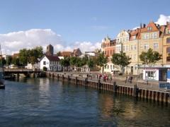 Blick auf den Stralsunder Hafen