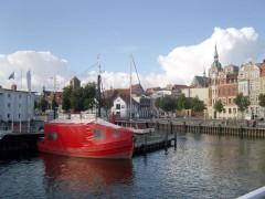 Fischkutter Anja im Stralsunder Hafen