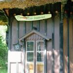 Das Atelier Schwalbennest in Kloster. Arbeits- und Wohnstätte des Malers Willi Berger.