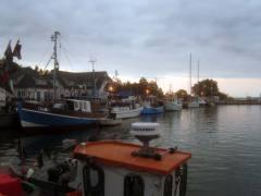 Abendstimmung im Vitter Hafen / © Reiseziel Hiddensee 2011
