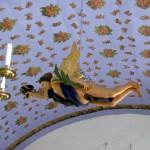Rosenhimmel in Inselkirche