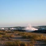 Stürmische Ostsee am Strand von Kloster