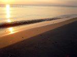 Abendstimmung am Strand von Vitte
