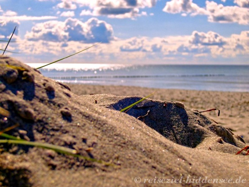 Sandstrand Vitte Hiddensee