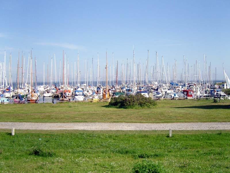 Yachthafen und Marina Vitte