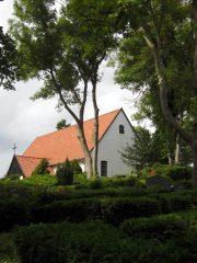Inselkirche in Kloster. Letztes Bauzeugnis des Zisterzienserklosters auf Hiddensee.