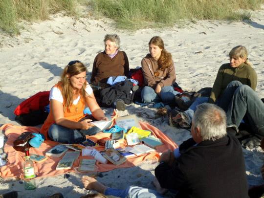 Literarische Spaziergänge auf Hiddensee mit Ute Fritsch