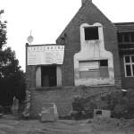 Die Lietzenburg während der Entkernung