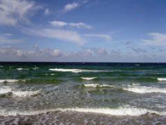 Die Ostsee vor Hiddensee im September