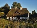 Reetgedecktes Haus in Kloster auf Hiddensee