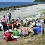 Ringelnatz-Führung am Strand bei Kloster Hiddensee | Ute Fritsch