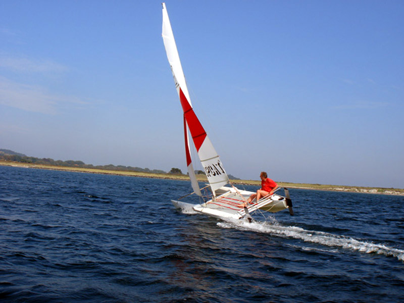 Katamaran segeln  Katamaransegeln | Reiseziel Hiddensee