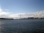Rügendamm und Volkswerft Stralsund