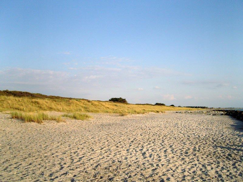Strand bei Kloster