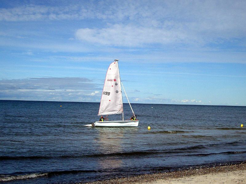 Segelschule auf Hiddensee