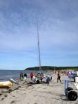 Katamaran von Surf und Segel auf Hiddensee