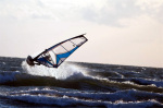 Windsurfer auf Hiddensee