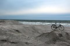 Winterstrand von Hiddensee von Anka Reß
