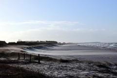 Der Strand von Hiddensee nach der Sandaufspülung von Anka Reß