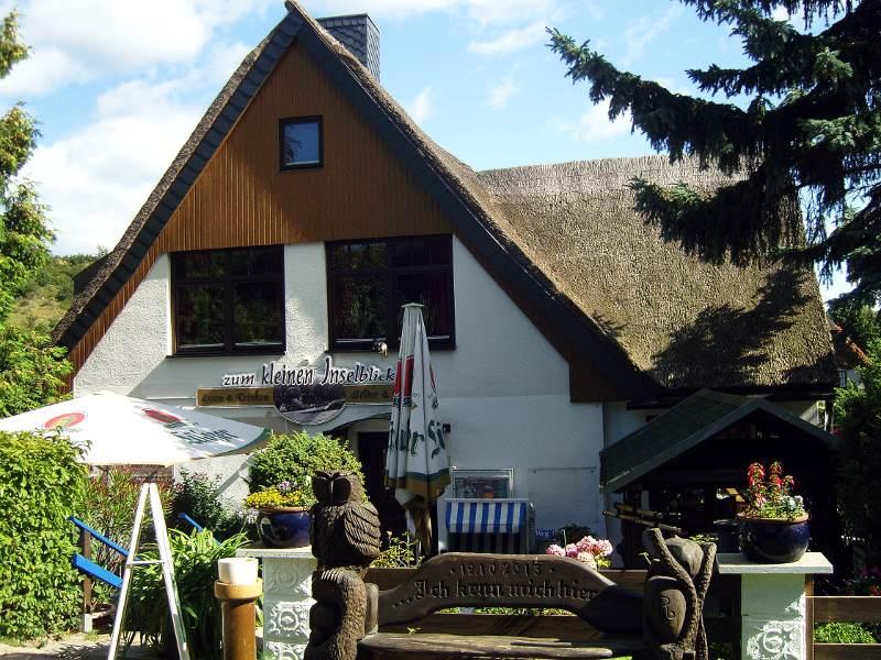 """Gaststätte """"Zum Kleinen Inselblick"""" in Kloster auf Hiddensee"""